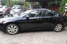 Nigeria Used Honda Accord Black 2009 Model in Lagos