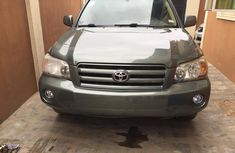 Foreign Used 2005 Model Toyota Highlander SUV Green