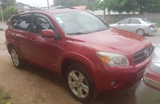 Red Nigeria Used Toyota RAV4 2007 Model for Sale