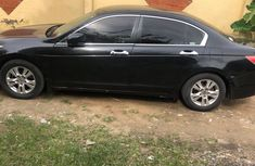 Black Nigeria Used Honda Accord 2008 Model for Sale