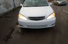 Foreign Used 2004 Model Toyota Camry White for Sale