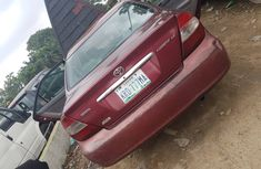 Red Nigeria Used Toyota Camry 2004 Model for Sale
