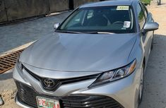 Foreign Used Sedan Toyota Camry 2018 Model Silver