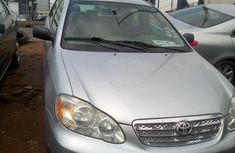 Foreign Used Toyota Corolla 2006 Model Silver for Sale