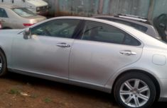 Silver Foreign Used Lexus ES 350 2008 Model