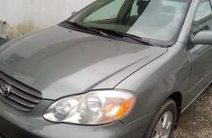 Tokunbo Toyota Corolla for Sale in Lagos 2003 Model