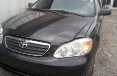 Black Tokunbo Toyota Corolla for Sale in Lagos 2003 Model