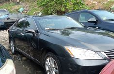 Black Foreign Used Lexus ES 350 2010 Model for Sale