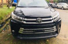 Black Foreign Used Toyota Highlander SUV 2018 Model for Sale