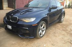 Foreign Used BMW X6 2010 Model Black for Sale