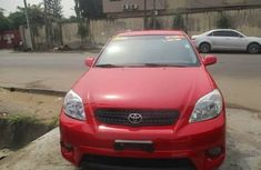 Foreign Used Toyota Matrix 2006 Model Red for Sale