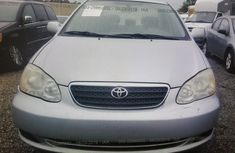 Silver Tokunbo Toyota Corolla for Sale in Lagos 2005 Model