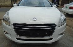 White Tokunbo Peugeot 508 2012 Model for Sale