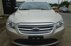 Foreign Used Ford Taurus 2011  Gold for Sale