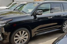 Black Foreign Used 2016 Lexus LX 570 for Sale