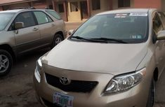 Toyota Corolla for Sale in Lagos 2009 Gold Tokunbo