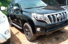 Toyota Land Cruiser Prado 2015 Black Tokunbo for Sale
