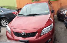 Neat Foreign used Toyota Corolla 2009 Model