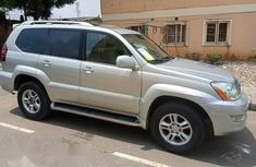 Foreign Used Lexus GX 2003 Silver