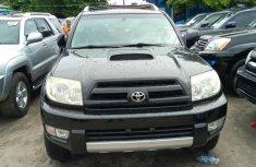 Used 2005 Toyota 4 Runner Black for Sale