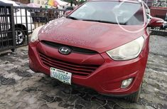Nigeria Used Hyundai ix35 2013 Model Red