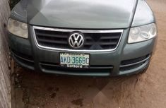 Very Clean Nigerian used Volkswagen Touareg 2003 Green
