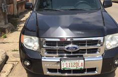 Nigeria Used Ford Escape 2012 Model  Black