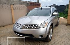 Foreign Used Nissan Murano 2006 Model Silver