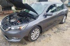Nigeria Used Honda Accord 2014 Model  Gray