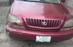 Nigeria Used Lexus RX 300 1999 Model Red