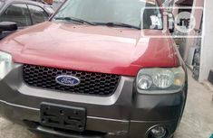 Foreign Used Ford Escape 2005 Morning XLT Red