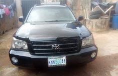 Very clean Nigerian Used Toyota Highlander 2004