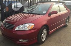 Foreign Used Toyota Corolla 2002 Model