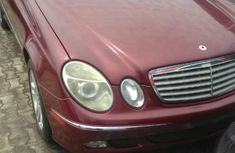 Neat Foreign used Mercedes-Benz E320 2004 Red