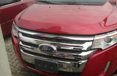 Neat Foreign used Ford Edge 2011 Red