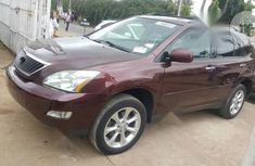 Foreign Used Lexus RX 350 2009 Model Red