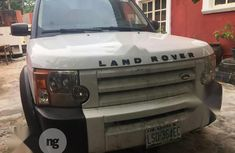 Nigeria Used Land Rover LR3 2007 Model White