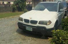 Nigeria Used BMW X3 2005 Model White