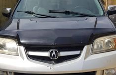 Foreign Used Acura MDX 2006 Model Black