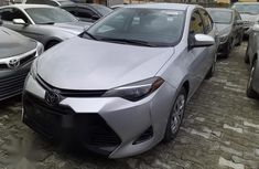 Neat Foreign used Toyota Corolla 2017 Silver