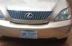 Nigerian Used Lexus RX 2005 330 Gold