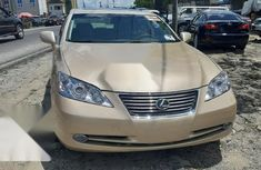Foreign Used Lexus ES 2007 Gold