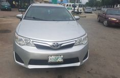 Nigeria Used Toyota Camry 2012 Model Silver for Sale