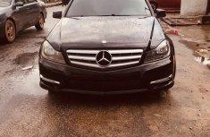 Mercedes Benz C300 Tokunbo 2013 Model Black for Sale