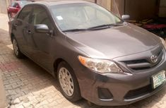 Nigeria Used Toyota Corolla 2012 Model Grey for Sale