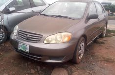 Nigeria Used Toyota Corolla 2003 Model Grey for Sale