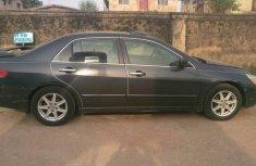 Nigeria Used Honda Accord 2004 Model Black for Sale