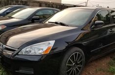 Nigeria Used Honda Accord 2006 Model Black Sedan