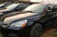 Nigeria Used Honda Accord 2006 Model Black Sedan