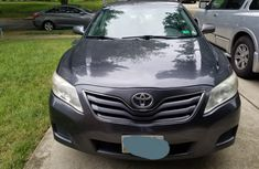 Nigerian Used Toyota Camry Silver 2010 Model for Sale